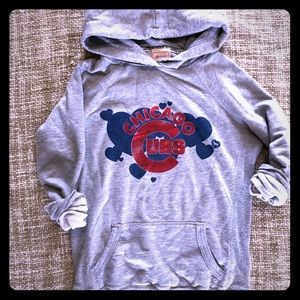 Victoria's Secret Pink Chicago Cubs Hoodie XS Rare